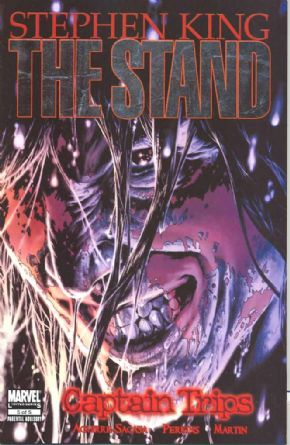 The Stand Captain Trips #5 (2008) Stephen King Marvel comic book